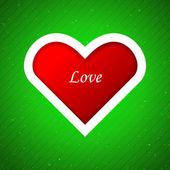 Fundo de apliques de coração. — Vetorial Stock