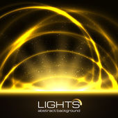 Background with bright flares. — Stock Vector