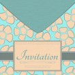 Stock Vector: Invitation card