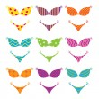 Swimsuits — Stock Vector
