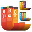 Infographic Templates — Stock Vector