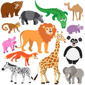 Set of Animals — Stock Vector