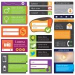 Web Design Elements — Stock Vector #30712817
