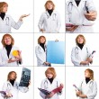 Medical photo set — Stock Photo