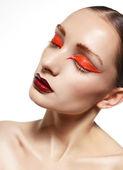 Ceremonial makeup — Stock Photo