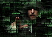 Hacker — Stock Photo
