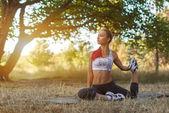 体育锻炼 — 图库照片