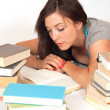 Bookworm — Stock Photo