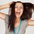 Stock Photo: Screaming Girl