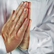 Praying Hands — Stock Photo