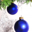 Royalty-Free Stock Photo: Christmas tree decoration on a fir