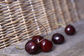 Five Cherries — Stock Photo