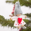 Royalty-Free Stock Photo: Christas tree decorain