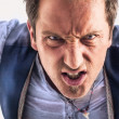 Royalty-Free Stock Photo: Angry man