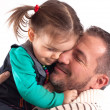 Father and Doughter — Stock Photo