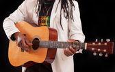 Guitar man — Stockfoto