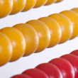 Detailshot of a abacus - Stock Photo