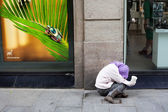 Begga in Barcelona — Stock Photo