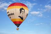 Captiveballoon in Sky — Stock Photo