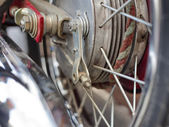 Spokes on a wheel — Stock Photo