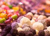 Chokolate on the market — Stock Photo