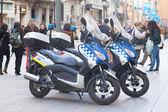 Motos de police de barcelone — Photo