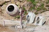 Cement mixer — Foto Stock