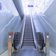 Stock Photo: Escalator on Railwaystation