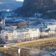 Stock Photo: Salzburg from above
