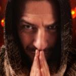 Постер, плакат: Praying Monk