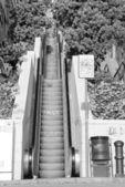 Outdoor Escalator — Stock Photo