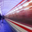 Motion in the subway — Stock Photo
