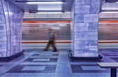 Subway in Motion — Foto Stock