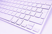 Toned Keyboard — Stock Photo