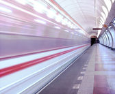 Subway Motion picture — Stock Photo