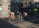 Krakow, Poland - Tour de Pologne (Tour of Poland) - cycling race — Stock Photo