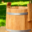 Stock Photo: Wooden keg