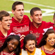 Seminole Cheerleading Squad — Stock Photo