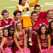 FSU Cheerleading Squad — Stock Photo