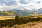 Autumn Colors in Twin Lakes, Colorado — Stock Photo