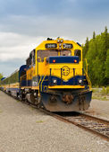 Alaska Train to Whittier — Stock Photo