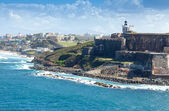 El Morro Castle in San Juan, Puerto Rico — Stock Photo