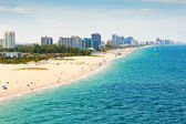 Fort Lauderdale Beach, Ft. Lauderdale, Florida — Stock Photo