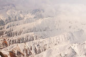 Aerial View of the Alaskan Mountain Range — Stock Photo