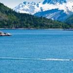 małych rybackich łodzi na Alasce — Zdjęcie stockowe