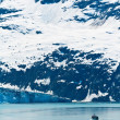 fiskebåt i glacier bay nationalpark, alaska — Stockfoto
