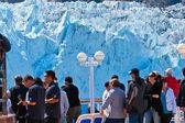 Margorie glaciar no alasca — Foto Stock