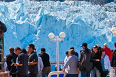 Margorie glacier στην αλάσκα — Φωτογραφία Αρχείου