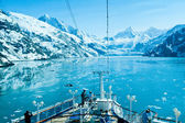 Glacier bay nationaalpark in alaska — Stockfoto