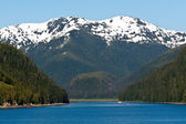 Inside Passage Along the Alaskan Mountain Range — Stock Photo